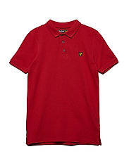 Classic Polo Shirt - TOMATO RED