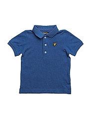 Classic Polo Shirt - TRUE BLUE MARL