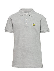 Classic Polo Shirt - VINTAGE GREY HEATHER