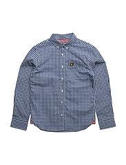 Lyle & Scott Gingham Check Shirt - TRUE BLUE