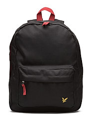 Plain Backpack - TRUE BLACK