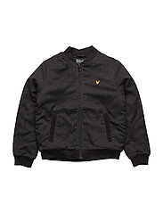 Bomber Jacket - TRUE BLACK