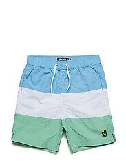 Colour Block Swim Short - NORSE BLUE