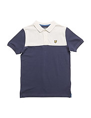 Yoke Polo Shirt - NAVY