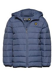 Lightweight Puffa Jacket - INDIGO BLUE