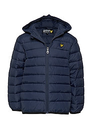 Lightweight Puffa Jacket - NAVY BLAZER
