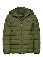 Lightweight Puffa Jacket - WOODLAND GREEN