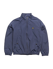 Zip Through With Funnel Neck Jacket - NAVY