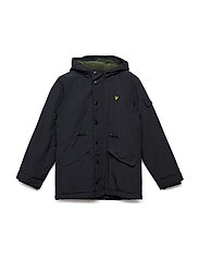 Winter Weight Microfleece Parka - BLACK