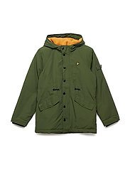 Winter Weight Microfleece Parka - WOODLAND GREEN