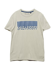 Block Logo T-Shirt - GREEN STONE