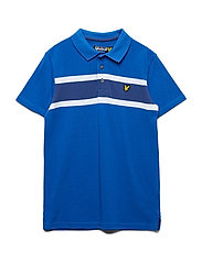 Engineered Chest Stripe Polo
