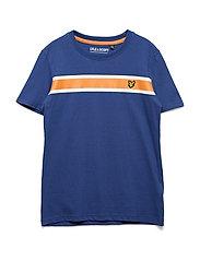 Engineered Chest Stripe Polo - TWILIGHT BLUE