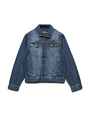 Denim Jacket - BLURRED WASH