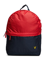 Colour Block Back Pack - TOMATO RED