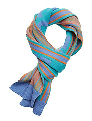 L&S Logo Scarf - LAKE BLUE