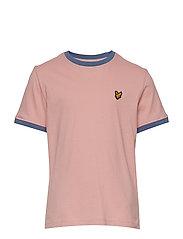 Ringer T-Shirt - CORAL WAY