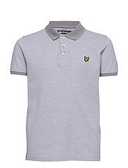 Oxford Polo Shirt - DOLPHIN GREY