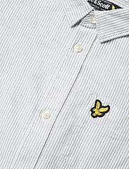 Lyle & Scott Junior - Fine Stripe SS Shirt - overhemden - sky blue - 2