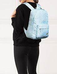 Lyle & Scott Junior - Pool Print Back Pack Blue Shore - backpacks - blue shore - 0