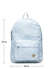 Lyle & Scott Junior - Pool Print Back Pack Blue Shore - backpacks - blue shore - 6