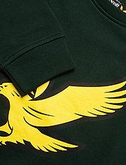 Lyle & Scott Junior - Logo Crew LB - sweatshirts - pine grove - 1