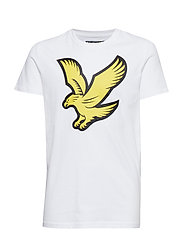 Eagle Logo T-Shirt - BRIGHT WHITE