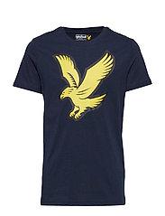 Eagle Logo T-Shirt - NAVY BLAZER