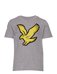 Eagle Logo T-Shirt - VINTAGE GREY HEATHER