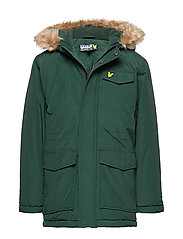 Micro Fleece Parka Jacket - PINE GROVE