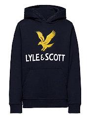 Lyle Eagle Logo LB OTH Hoodie Orion Blue