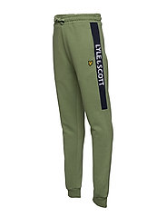 Lyle & Scott Junior - Lyle Panel BB Jog Hedge Green - sweatpants - hedge green - 2