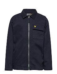 Oxford Long Sleeve Shirt Navy Blazer - NAVY BLAZER