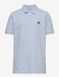 Classic Polo Shirt - pikeepaidat - chambray blue