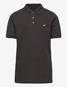 Classic Polo Shirt - pikeepaidat - charcoal grey marl