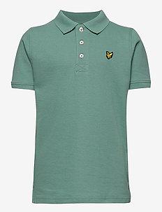 Classic Polo Shirt - pikeepaidat - oil blue