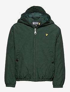 Zip Through Hooded Jacket - PINE GROVE