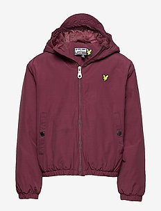 Zip Through Hooded Jacket - bomber jackets - winetasting