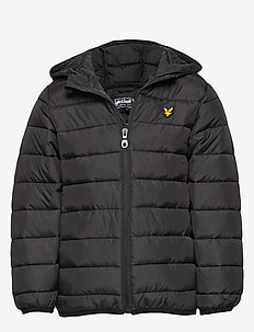 Lightweight Puffa Jacket - puffer & padded - black