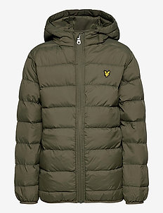 Lightweight Puffa Jacket - puffer & padded - grape leaf