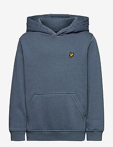 Classic OTH Hoody Fleece - hoodies - bluestone