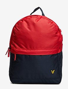 Colour Block Back Pack - sacs a dos - tomato red