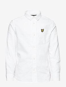 Oxford Shirt LS - BRIGHT WHITE