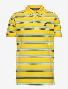 Stripe Polo - polo shirts - dandelion