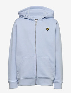 Classic Zip Through Hoodie French Blue - pulls à capuche - chambray blue
