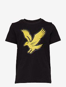 Eagle Logo T-Shirt - BLACK