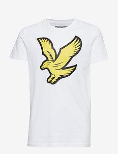 Eagle Logo T-Shirt - BRIGHT WHITE