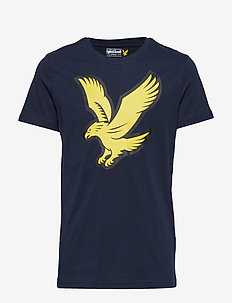 Eagle Logo T-Shirt - NAVY BLAZER