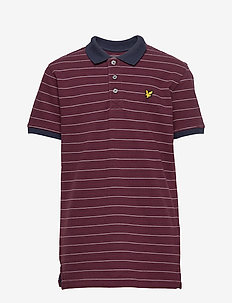 Fine Stripe Polo Shirt - WINETASTING