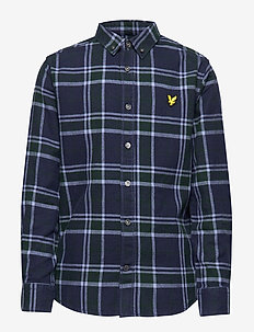 Check Flannel Shirt - PINE GROVE